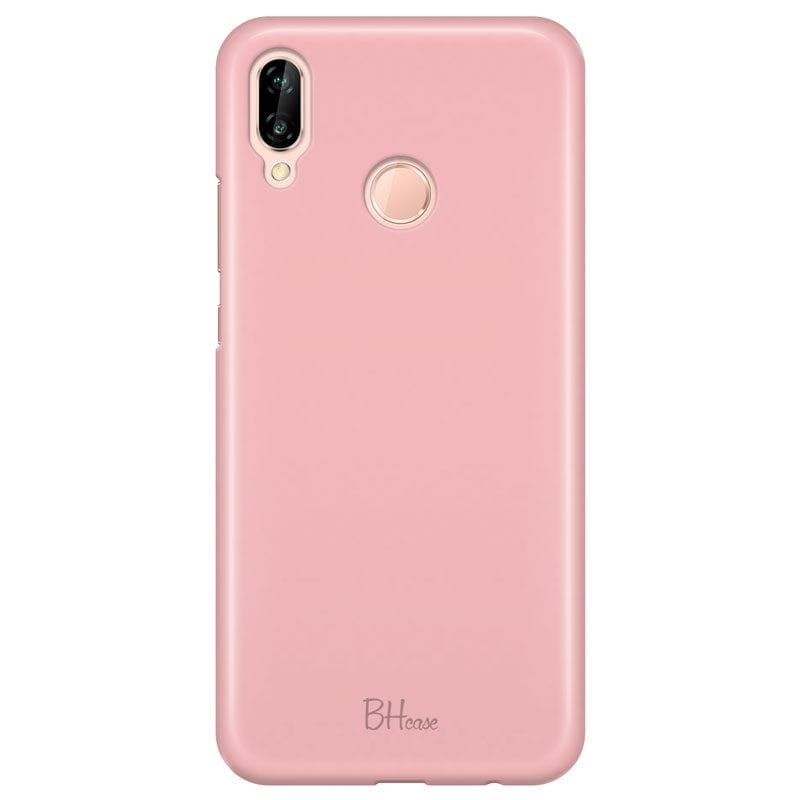 Charm Pink Color Case Huawei P20 Lite