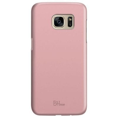 Charm Pink Color Case Samsung S7