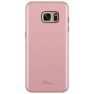 Charm Pink Color Case Samsung S7 Edge