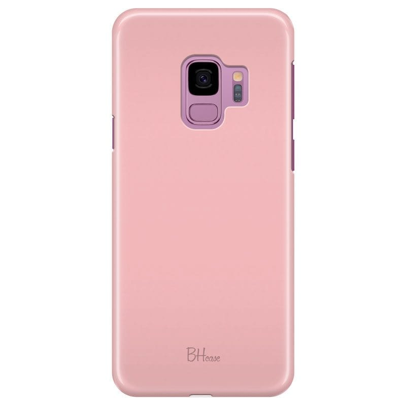 Charm Pink Color Case Samsung S9