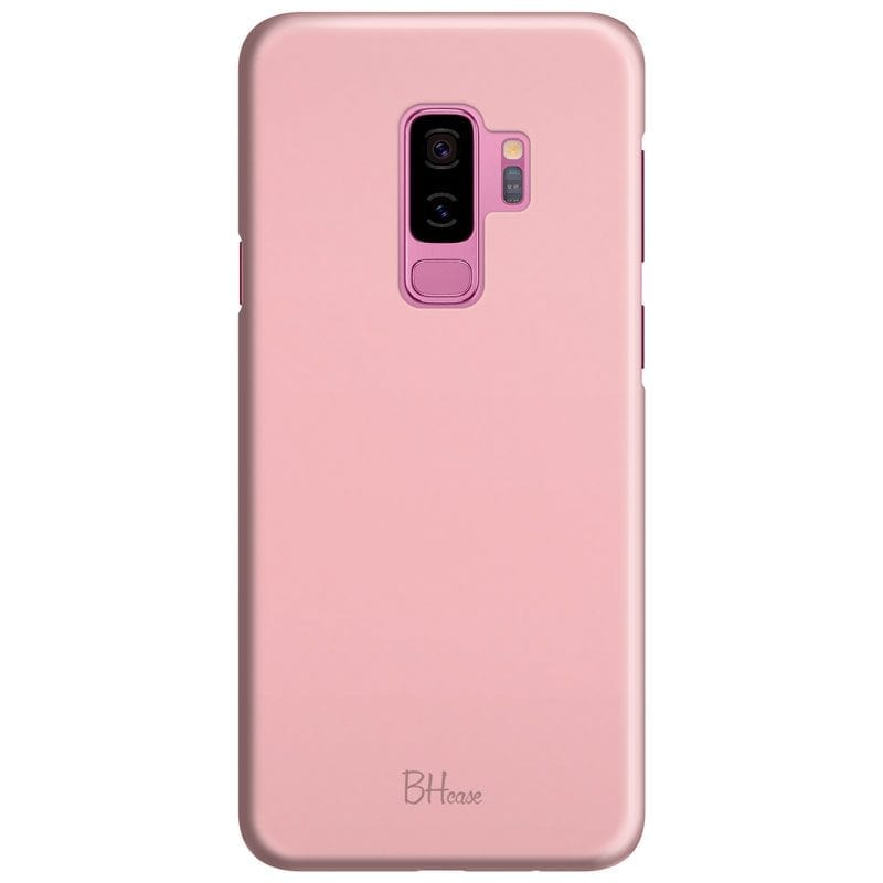Charm Pink Color Case Samsung S9 Plus