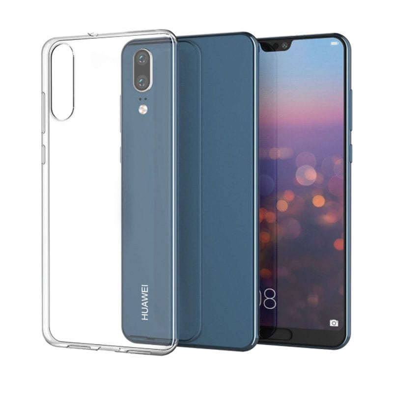 Clear Transparent Case Huawei P20