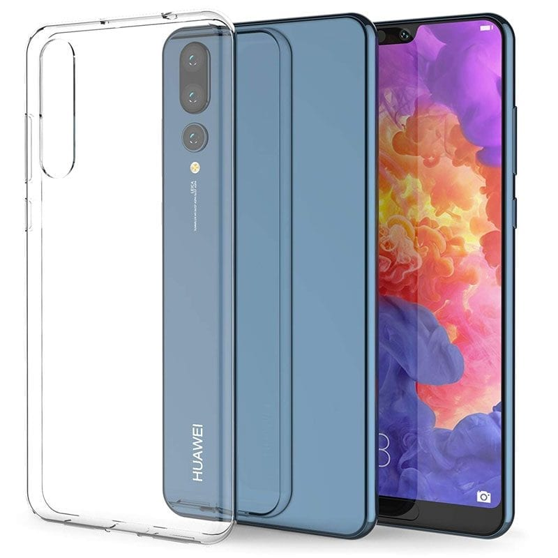 Clear Transparent Case Huawei P20 Pro