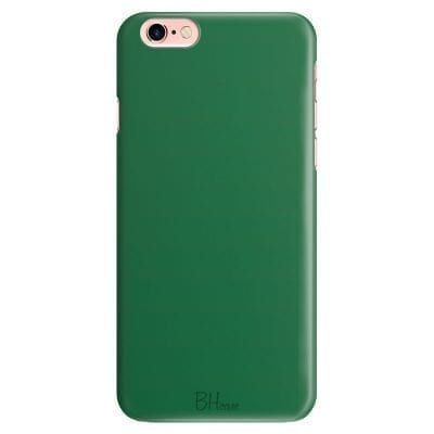 Dark Spring Green Color Case iPhone 6/6S