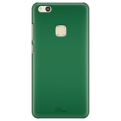 Dark Spring Green Color Case Huawei P10 Lite