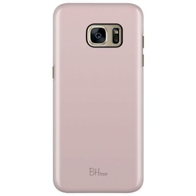 English Lavender Color Case Samsung S7 Edge