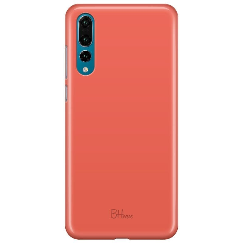 Fire Opal Color Case Huawei P20 Pro
