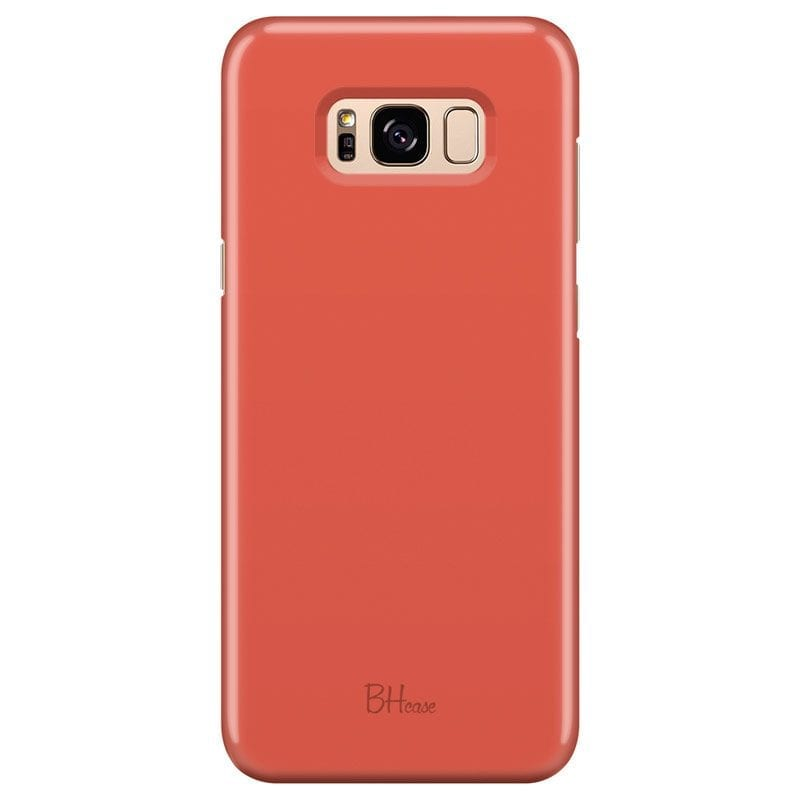 Fire Opal Color Case Samsung S8 Plus
