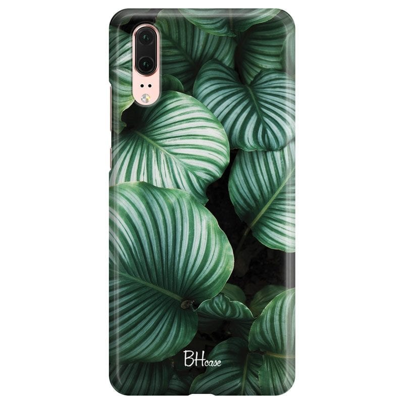 Green Leaves Case Huawei P20