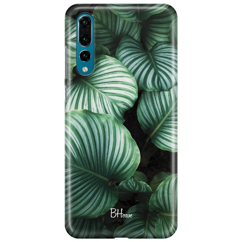 Green Leaves Case Huawei P20 Pro