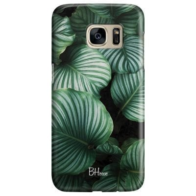 Green Leaves Case Samsung S7