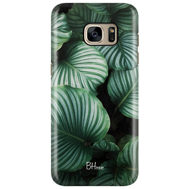 Green Leaves Case Samsung S7 Edge