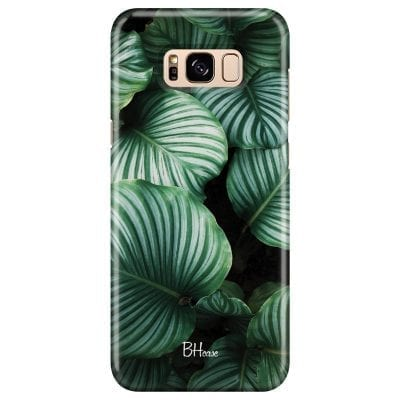 Green Leaves Case Samsung S8
