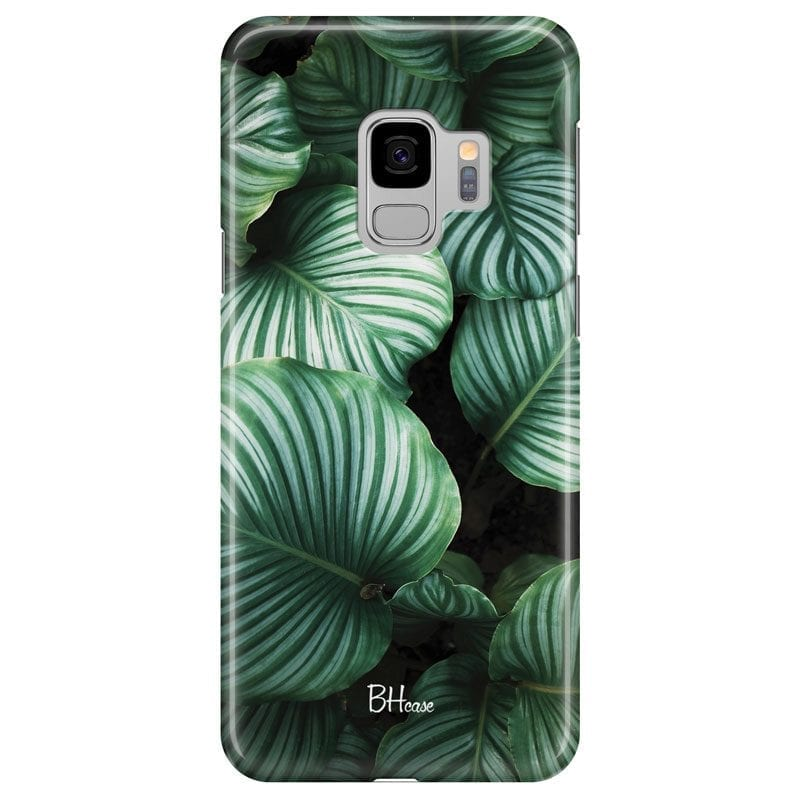 Green Leaves Case Samsung S9