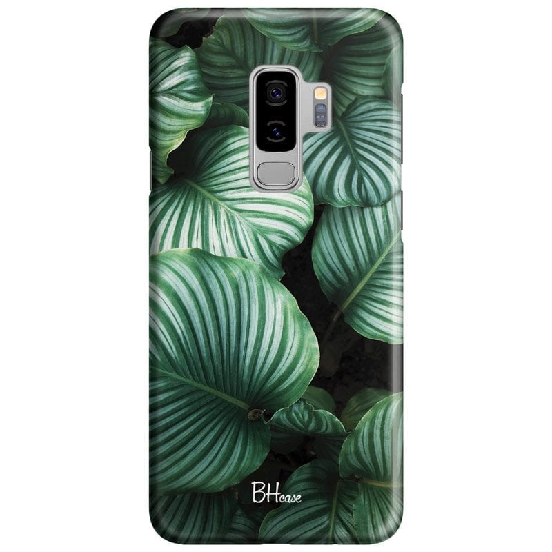 Green Leaves Case Samsung S9 Plus