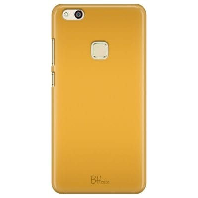 Honey Yellow Color Case Huawei P10 Lite