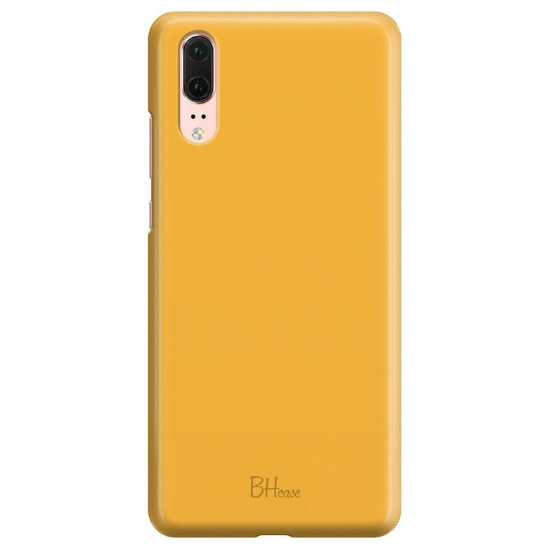 Honey Yellow Color Case Huawei P20