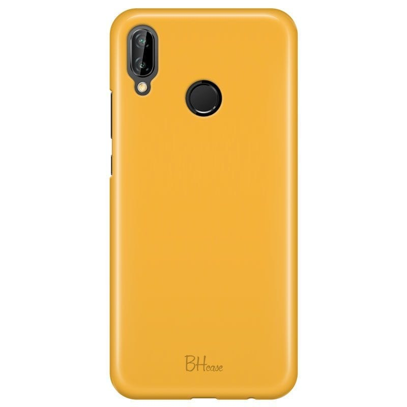 Honey Yellow Color Case Huawei P20 Lite/Nova 3E