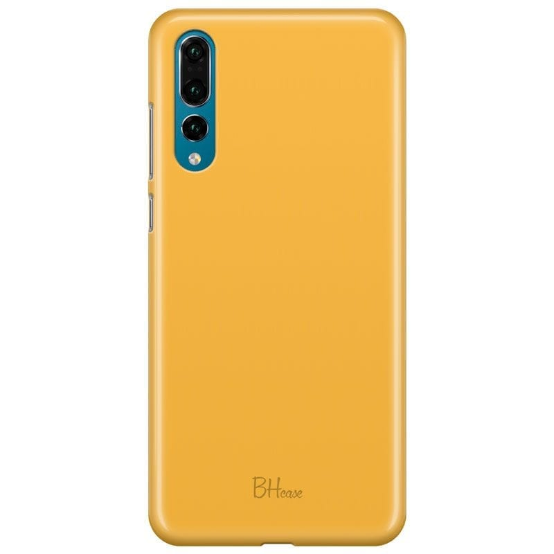 Honey Yellow Color Case Huawei P20 Pro