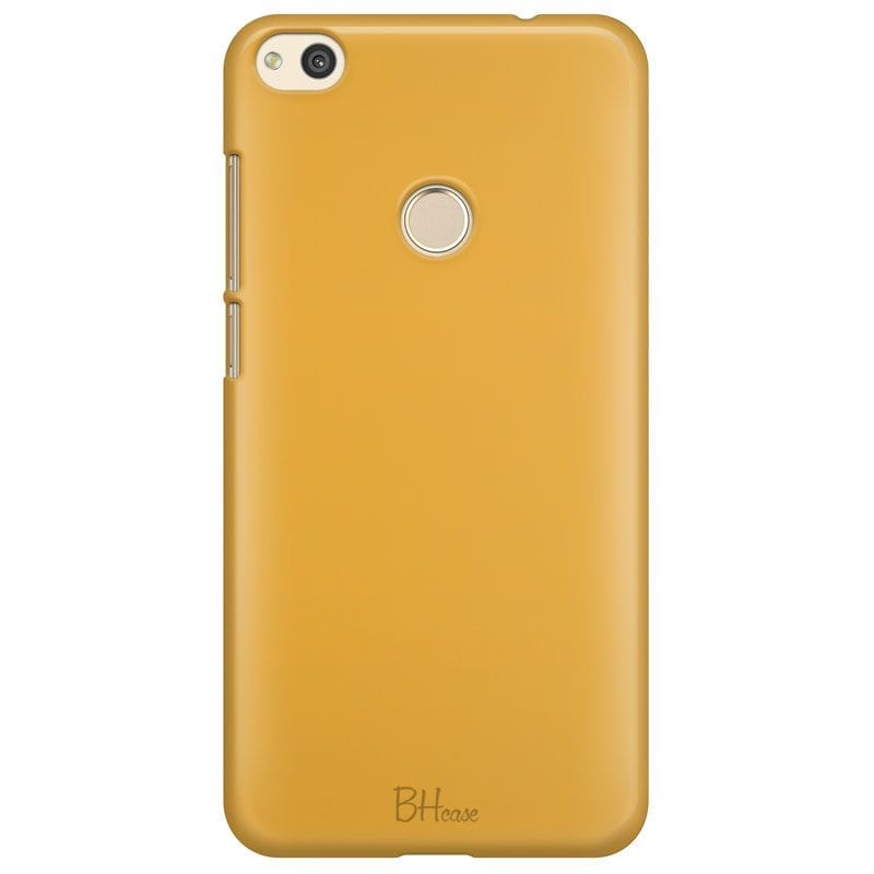 Honey Yellow Color Case Huawei P8 Lite