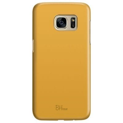 Honey Yellow Color Case Samsung S7