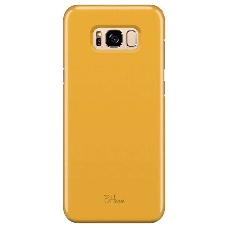 Honey Yellow Color Case Samsung S8