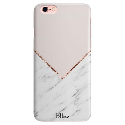 Marble And Pink Color Case iPhone 6/6S