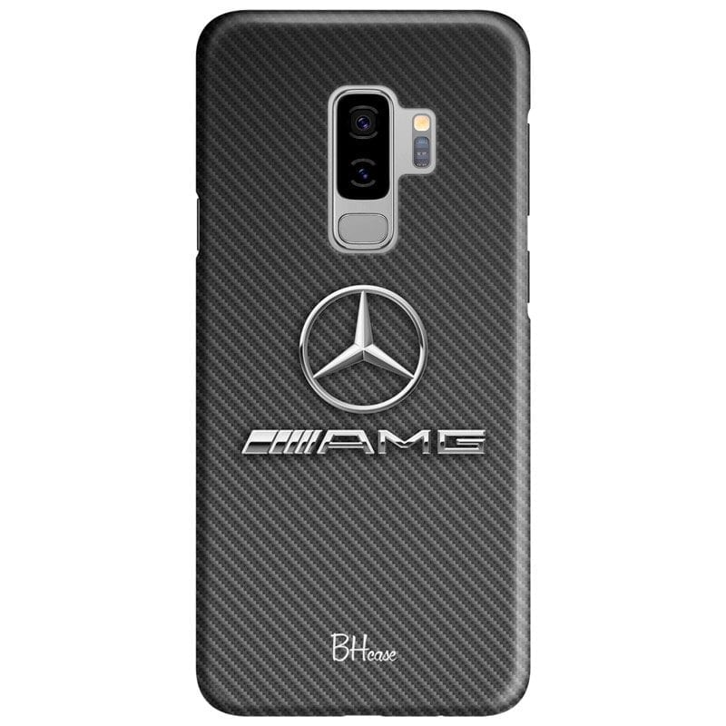 Mercedes AMG Logo Case Samsung S9 Plus