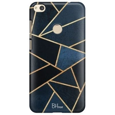 Midnight Geometric Case Huawei P8 Lite