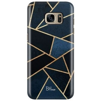 Midnight Geometric Case Samsung S7 Edge