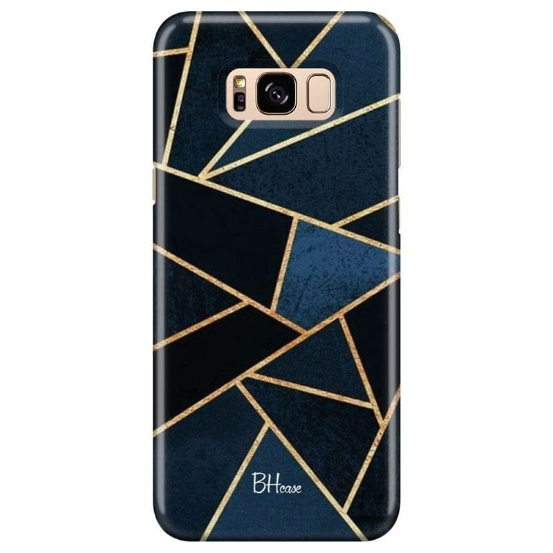 Midnight Geometric Case Samsung S8