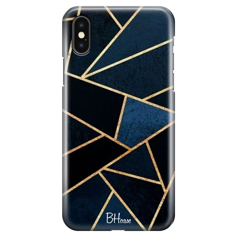 Midnight Geometric Case iPhone XS Max