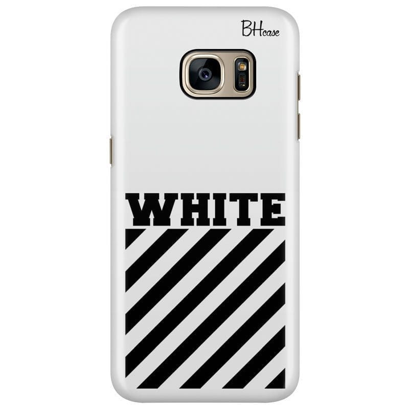 Off White Case Samsung S7 Edge