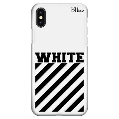 Off White Case iPhone XS Max