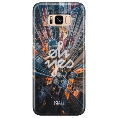 Oh Yes Case Samsung S8 Plus
