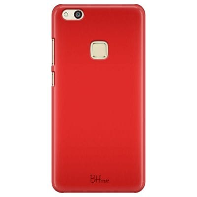 Red Apple Color Case Huawei P10 Lite