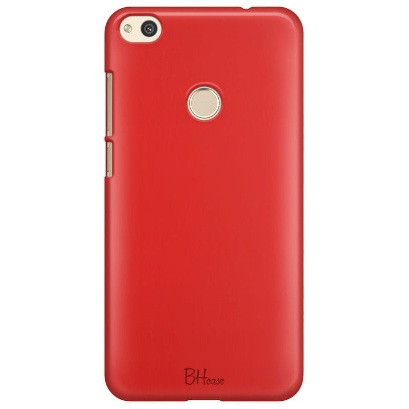 Red Apple Color Case Huawei P8 Lite
