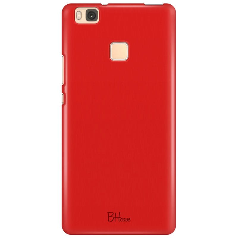 Red Apple Color Case Huawei P9 Lite