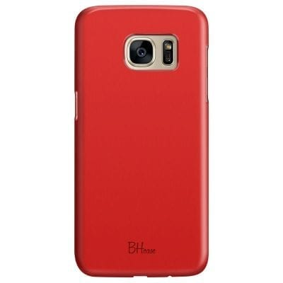 Red Apple Color Case Samsung S7