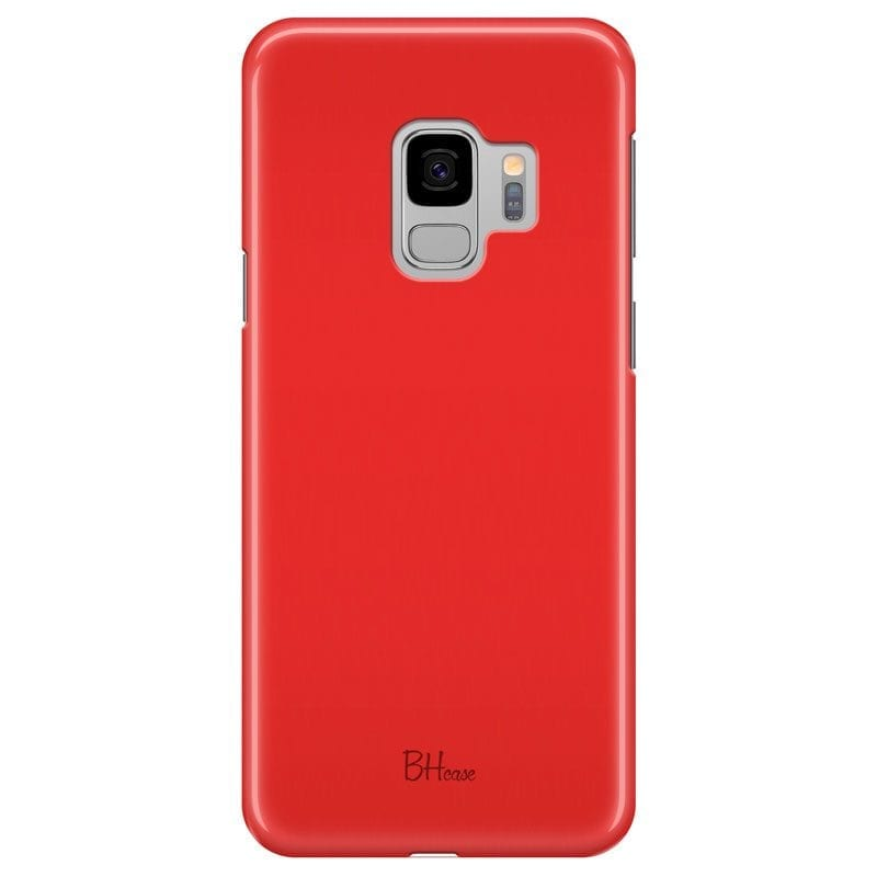 Red Apple Color Case Samsung S9