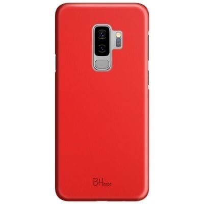 Red Apple Color Case Samsung S9 Plus