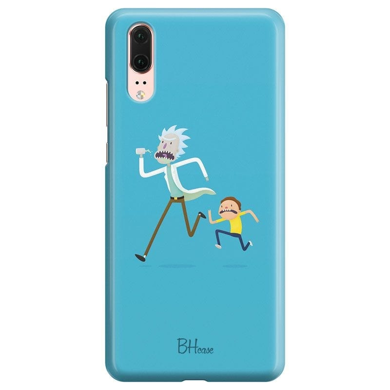 Rick And Morty Case Huawei P20