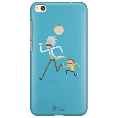 Rick And Morty Case Huawei P8 Lite
