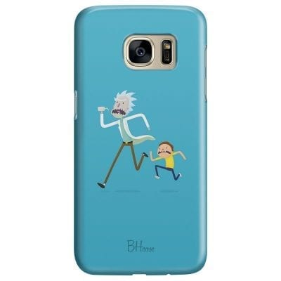 Rick And Morty Case Samsung S7