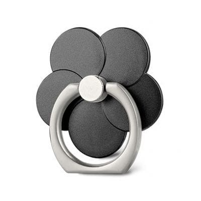 Stent Ring Kickstand Black Flower