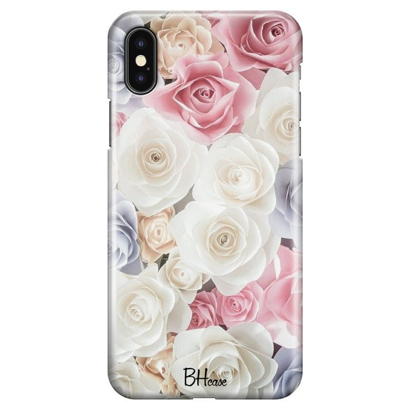 Roses Old Case iPhone XS Max