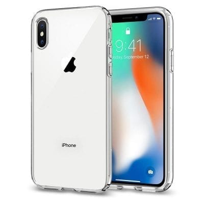 Spigen Ultra Hybrid Crystal Clear Case iPhone XS Max