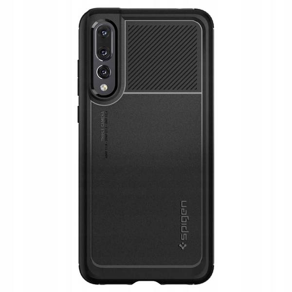 Spigen Marked Armor Black Case Huawei P20 Pro