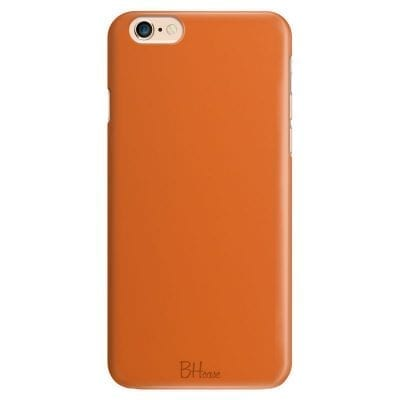 Tiger Orange Color Case iPhone 6/6S
