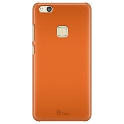 Tiger Orange Color Case Huawei P10 Lite